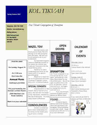 caledon jewish personals Full text of old times, summer/fall 2004 see other formats.